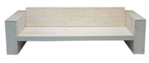 Tuinbank 2 planken